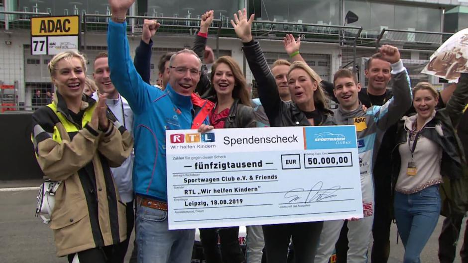 Spendenaktion am Nürburgring