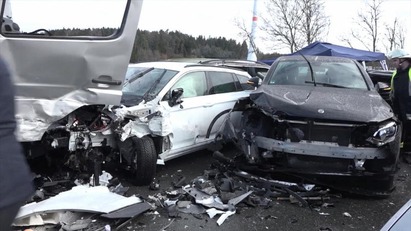Unfall A6 Familie