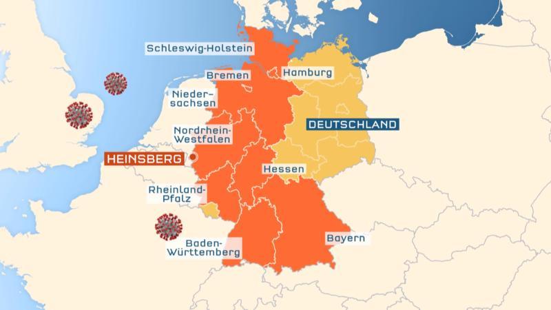 Infizierte Rheinland Pfalz