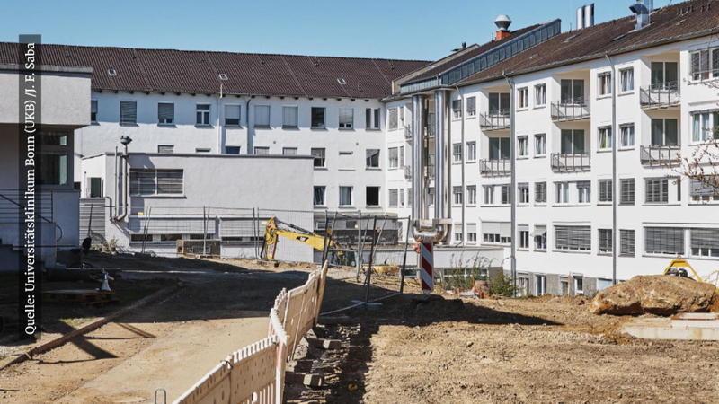 Uniklinik Bonn Bombe