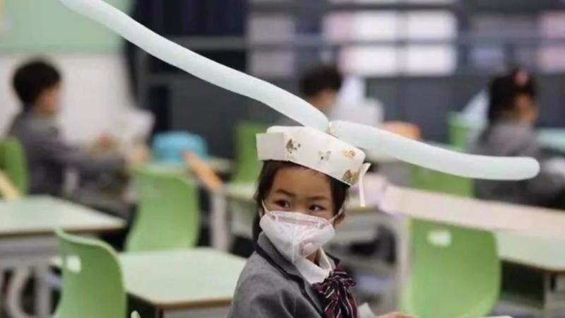 Kreative Corona-Hilfe in der Schule: Chinesische Schüler ...