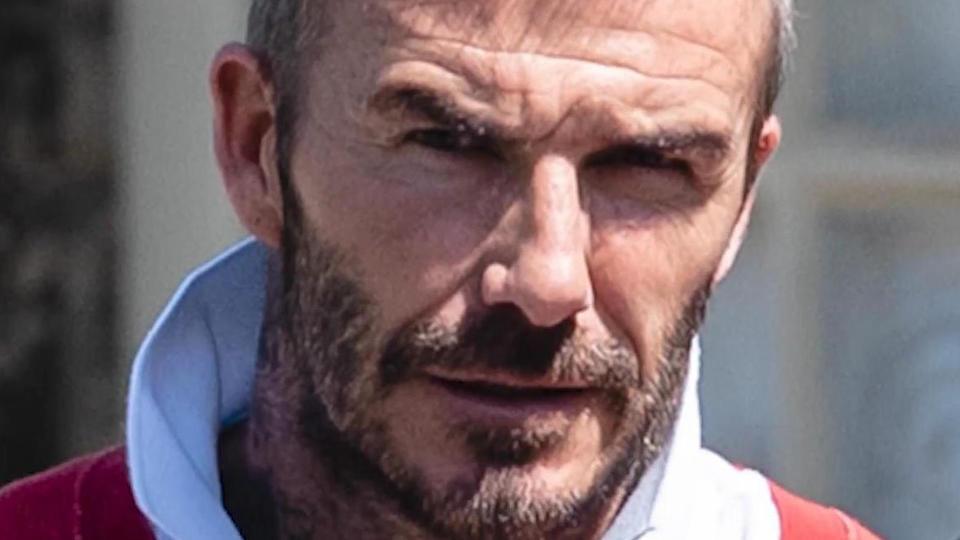 David Beckham Haare