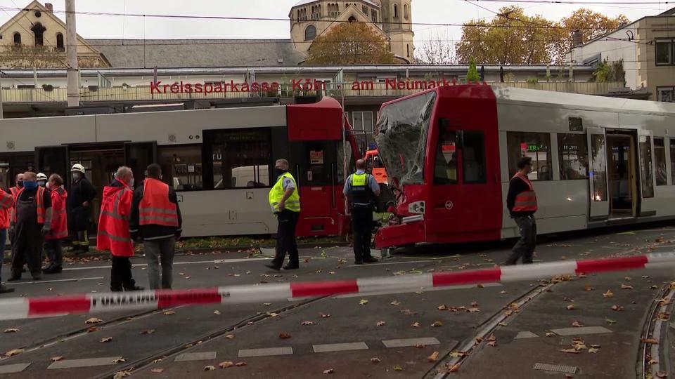Straßenbahnunfall Köln