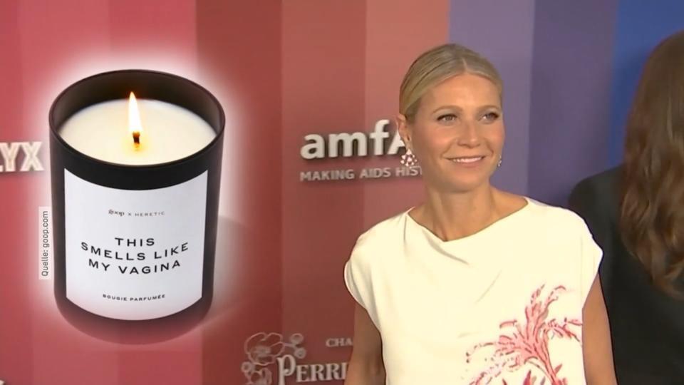 Kerze vagina Gwyneth Paltrow