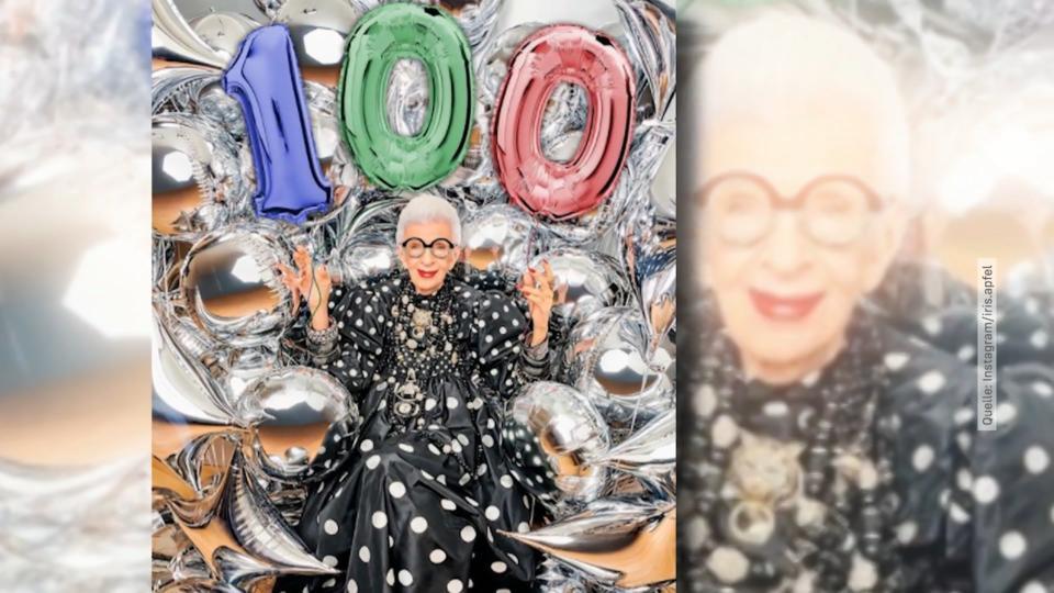 Iris Apfel feiert 100. Geburtstag